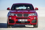 2017 BMW X4 in Melbourne Red Metallic - Static Frontal View